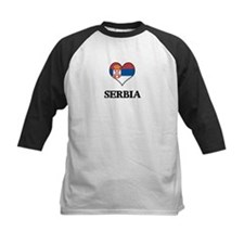 Serbia heart Tee