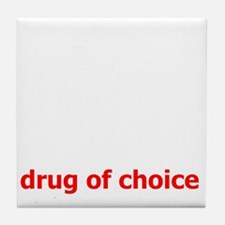DrugOfChoice Tile Coaster