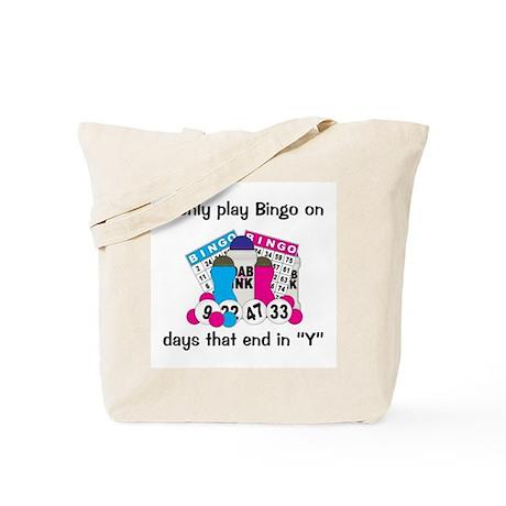 Play Bingo On Days Tote Bag