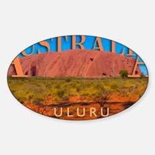 mouse pad_0051_australia uluru16060 Sticker (Oval)