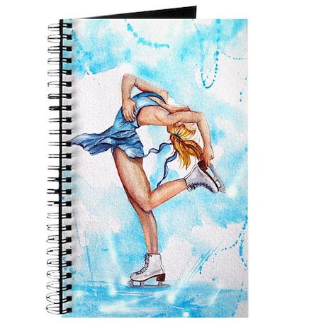 Blue Dream Ice Skater Journal