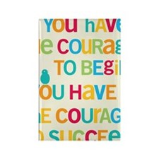Courage_5x7 Rectangle Magnet