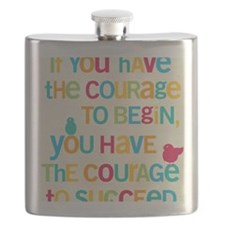 Courage_5x7 Flask