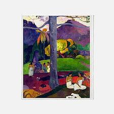FF Gauguin 2 Throw Blanket