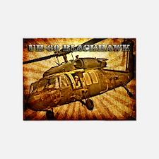Army Grunge Blackhawk 5'x7'Area Rug