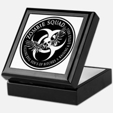 Zombie Squad Ring Patch Revised Keepsake Box