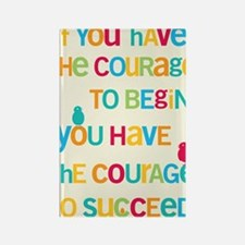 Courage_14x22_HI Rectangle Magnet