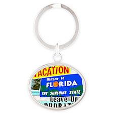 VacPro_Florida Oval Keychain