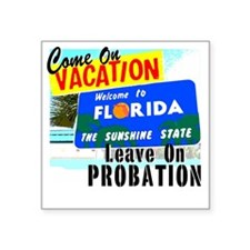 "VacPro_Florida Square Sticker 3"" x 3"""