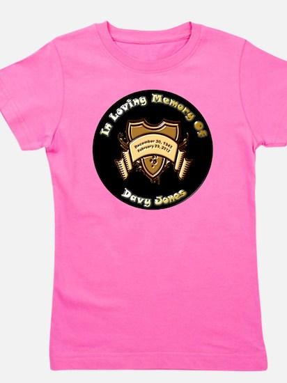 Davy Jones 12x12 Girl's Tee