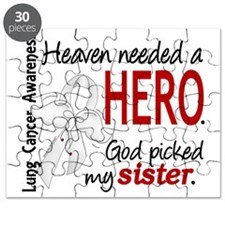 D Heaven Needed a Hero Sister Lung Cancer Puzzle