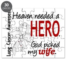 D Heaven Needed a Hero Wife Lung Cancer Puzzle