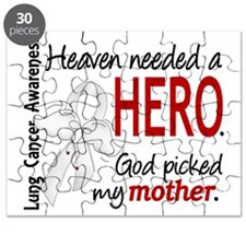 D Heaven Needed a Hero Mother Lung Cancer Puzzle