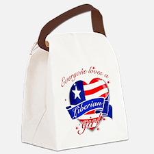 liberia Canvas Lunch Bag