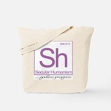 Sh Sweatshirt-Periwinkle-10x10 Tote Bag