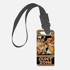 11x17_Quiet Zone print Luggage Tag