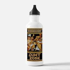 11x17_Quiet Zone print Water Bottle