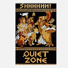 11x17_Quiet Zone print Postcards (Package of 8)