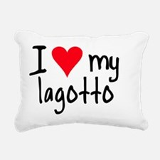 iheartlagotto Rectangular Canvas Pillow