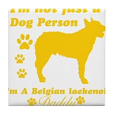 Belgian laekenois-daddy1 Tile Coaster