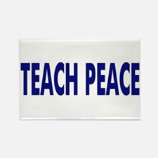 bumpblueteachpeace Magnets