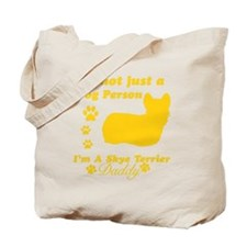 skye terrier-daddy1 Tote Bag