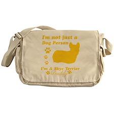 skye terrier-daddy1 Messenger Bag