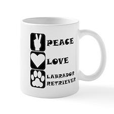 Peace Love Labrador Retriever Mugs