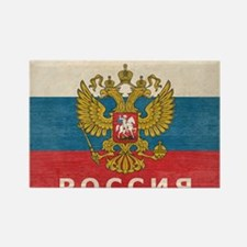 russia13 Rectangle Magnet