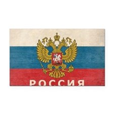 russia13 Rectangle Car Magnet