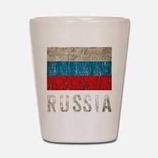 russia14Bk Shot Glass