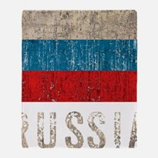 russia14Bk Throw Blanket