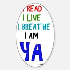 Young Adult Readers Sticker (Oval)