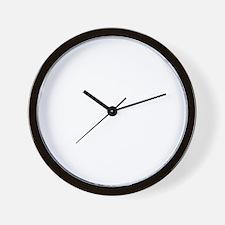 pray-beer-w Wall Clock