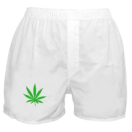 Marijuana Weed Leaf Boxer Shorts
