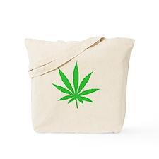 Marijuana Weed Leaf Tote Bag