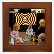 Hypnotic TV Framed Tile