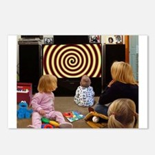 Hypnotic TV Postcards (Package of 8)