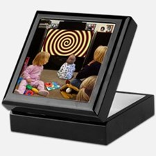 Hypnotic TV Keepsake Box