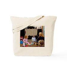 Hypnotic TV Tote Bag