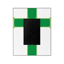Green Cross Picture Frame