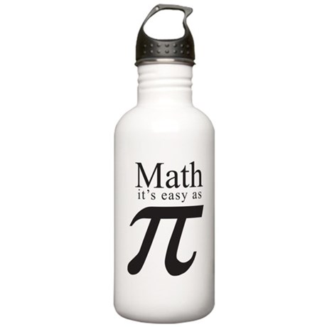 easy as PI Stainless Water Bottle 1.0L