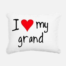 I LOVE MY GBGV Rectangular Canvas Pillow