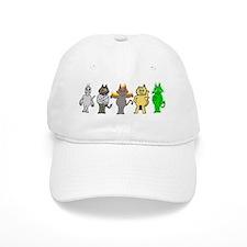 Many Kittys Baseball Cap