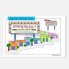 big pet mocks you Postcards (Package of 8)