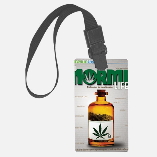 NL DVD cover crop Luggage Tag