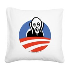 ObamaScream Square Canvas Pillow