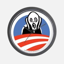 ObamaScream Wall Clock