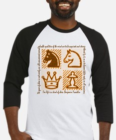 Chess Game Baseball Jersey