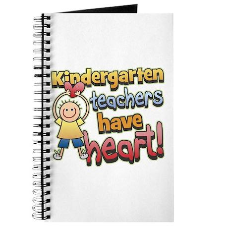 Kindergarten Teacher Heart Journal